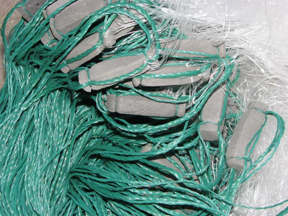 сети рыболовные ряжевые трехстенные