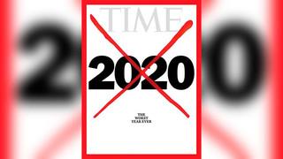 журнал Time крест 2020