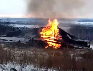 нижегород сожжение колокольня XIX век