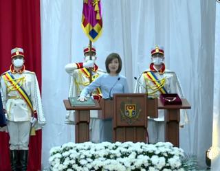 должность президент молдавия санду