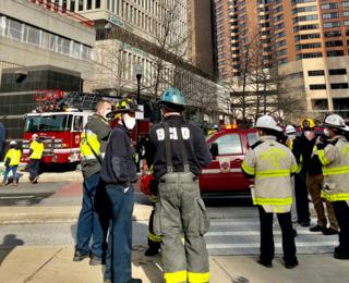 многоэтажное здание балтимор взрыв